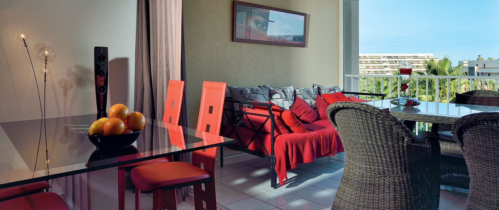 Rubis libertine apartment for rent