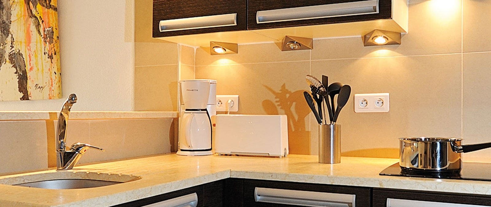 Villa libertine Acapulco with equipped kitchen