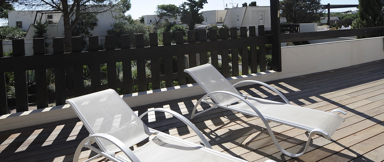 Great sunny terrace Écume Villa naturist rental