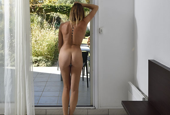 Jardin de Babylone naturist studio flat for rent